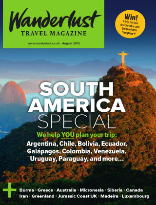 Wanderlust Travel Magazine August 2015