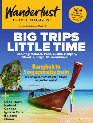 Wanderlust Travel Magazine May 2015