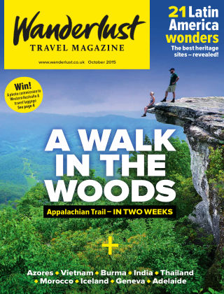 Wanderlust Travel Magazine October 2015