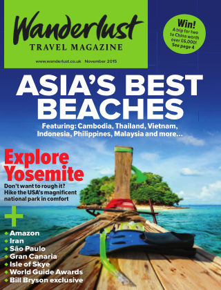 Wanderlust Travel Magazine November 2015
