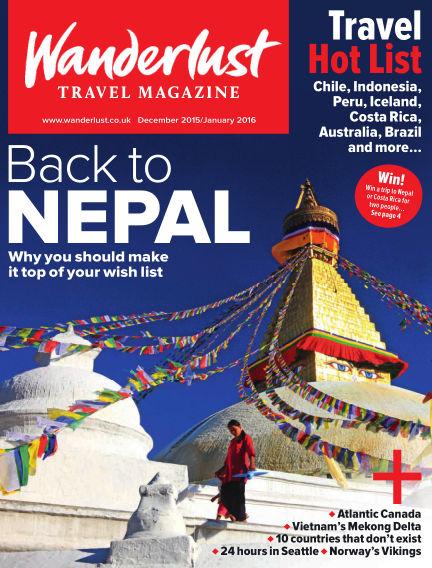 Wanderlust Travel Magazine November 26, 2015 00:00