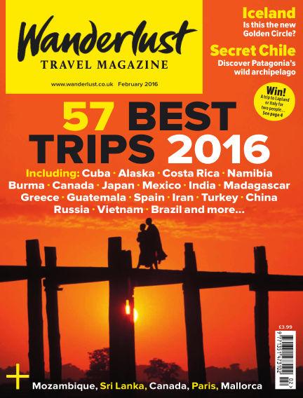 Wanderlust Travel Magazine January 07, 2016 00:00