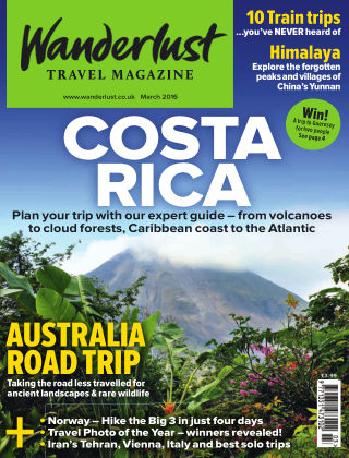 Wanderlust Travel Magazine March 2016