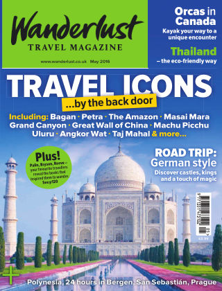Wanderlust Travel Magazine May 2016