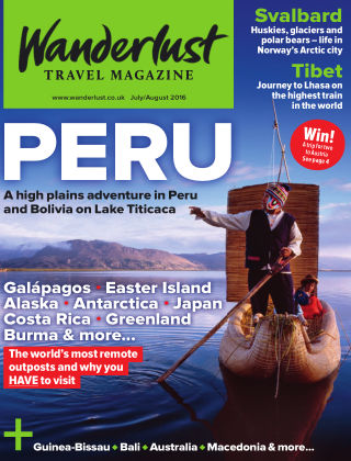 Wanderlust Travel Magazine Jul/Aug 2016
