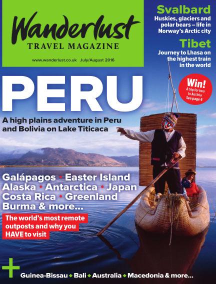 Wanderlust Travel Magazine July 07, 2016 00:00