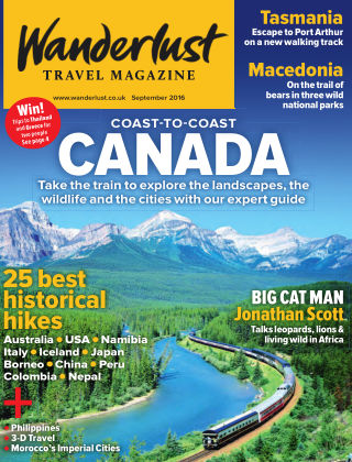 Wanderlust Travel Magazine September 2016