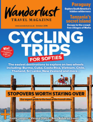 Wanderlust Travel Magazine October 2016
