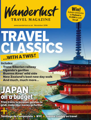 Wanderlust Travel Magazine November 2016