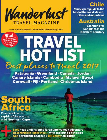 Wanderlust Travel Magazine November 17, 2016 00:00