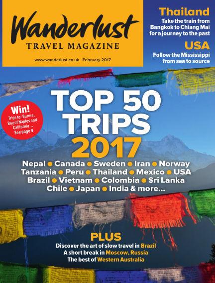 Wanderlust Travel Magazine January 05, 2017 00:00