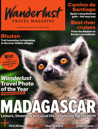 Wanderlust Travel Magazine March 2017
