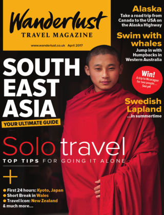 Wanderlust Travel Magazine April 2017