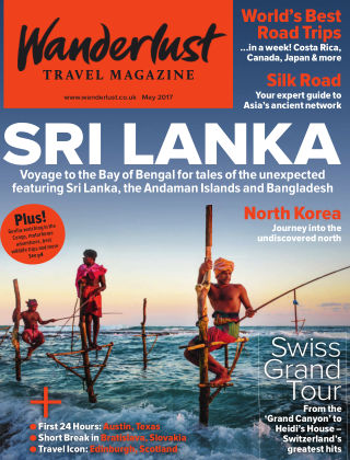Wanderlust Travel Magazine May 2017