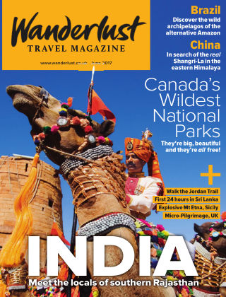 Wanderlust Travel Magazine June 2017