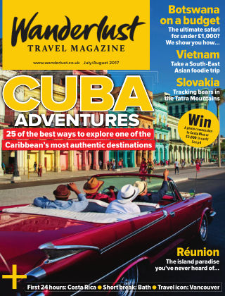 Wanderlust Travel Magazine Jul / Aug 2017