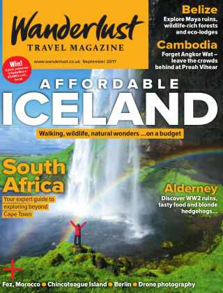 Wanderlust Travel Magazine Sept 2017