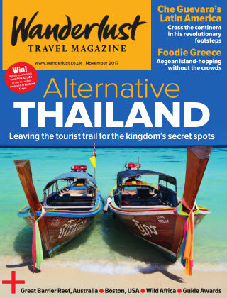 Wanderlust Travel Magazine November 2017