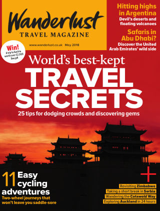 Wanderlust Travel Magazine May 2018
