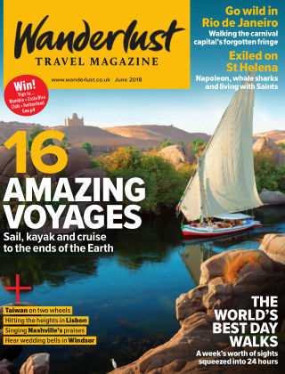 Wanderlust Travel Magazine June 2018