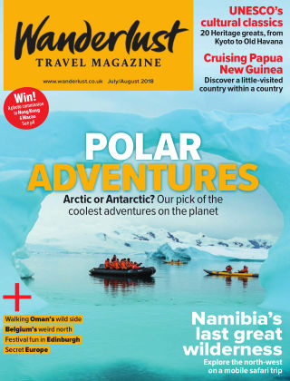 Wanderlust Travel Magazine July / August 2018