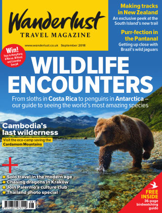 Wanderlust Travel Magazine September 2018