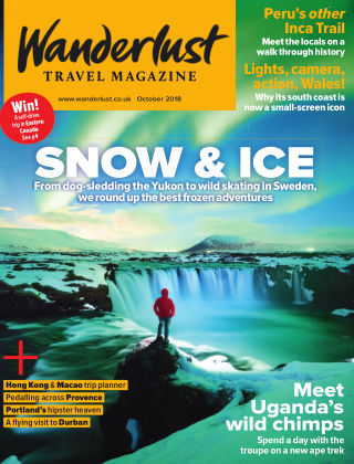 Wanderlust Travel Magazine October 2018