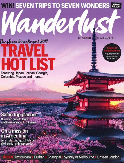 Wanderlust Travel Magazine November 15, 2018 00:00