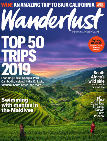 Wanderlust Travel Magazine January 03, 2019 00:00