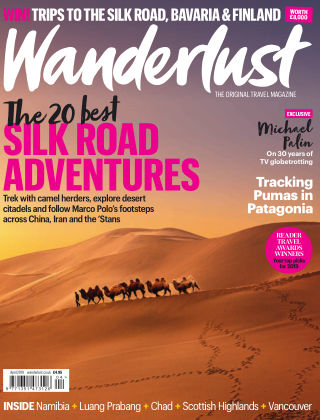 Wanderlust Travel Magazine April 2019