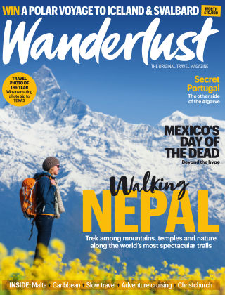 Wanderlust Travel Magazine July 2019