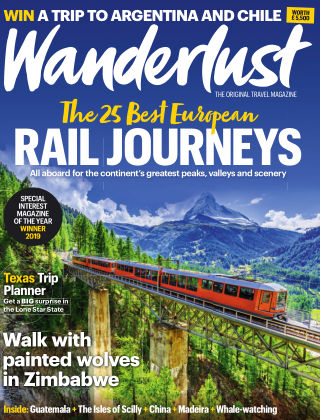 Wanderlust Travel Magazine September 2019