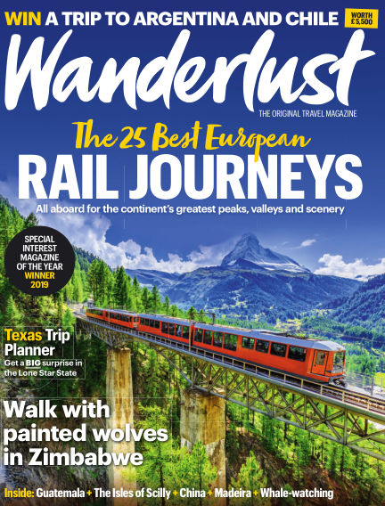 Wanderlust Travel Magazine August 01, 2019 00:00