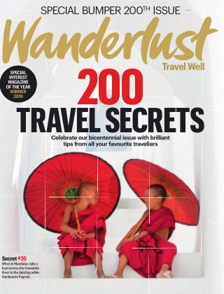 Wanderlust Travel Magazine October 2019
