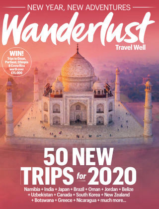 Wanderlust Travel Magazine February 2020