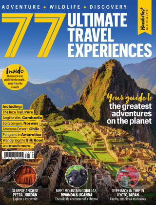 77 Ultimate Travel Experiences (Wanderlust Bookazine) Issue 1