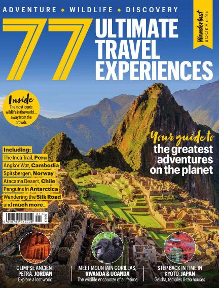 77 Ultimate Travel Experiences (Wanderlust Bookazine)