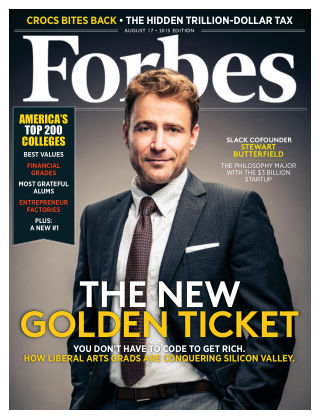 Forbes August 17, 2015