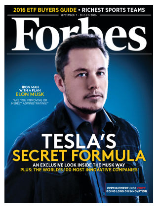 Forbes September 7, 2015