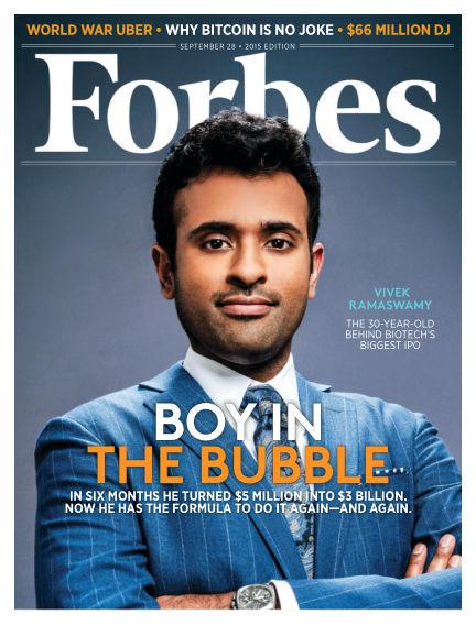 Forbes September 14, 2015 00:00