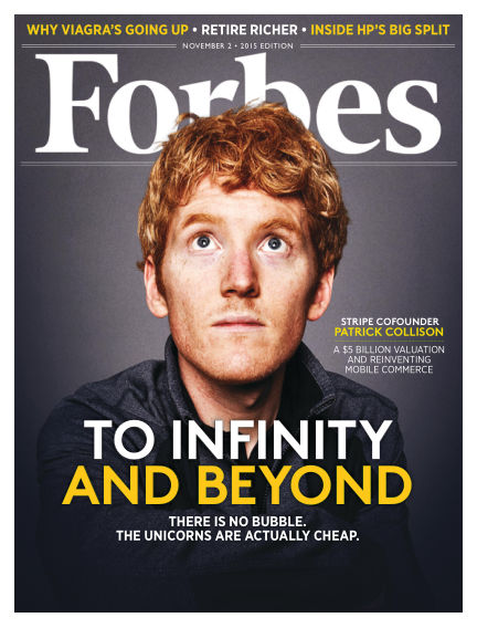 Forbes October 19, 2015 00:00