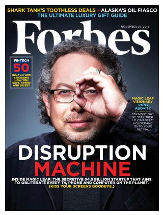 Forbes Nov 29 2016