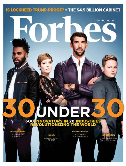 Forbes January 10, 2017 00:00