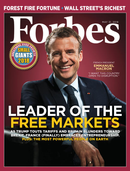 Forbes May 15, 2018 00:00