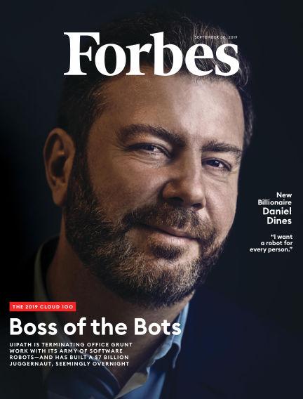 Forbes September 17, 2019 00:00