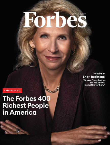 Forbes October 15, 2019 00:00