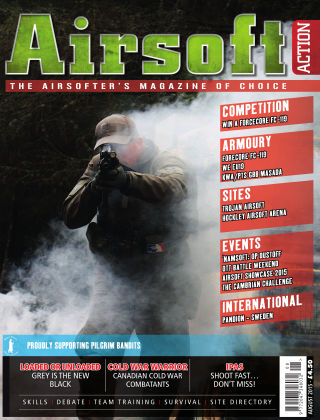 Airsoft Action August 2015