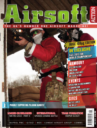 Airsoft Action January 2016