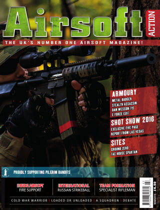 Airsoft Action March 2016