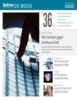 Spektrum - Die Woche 36/2015